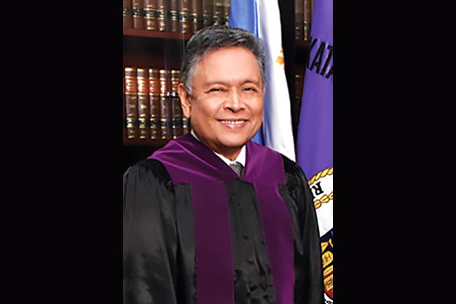 Justice Noel Gimenez Tijam (Ret.)